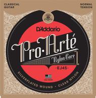D'Addario EJ45 Pro-Arte Nylon Classical Guitar Strings, Normal Tension