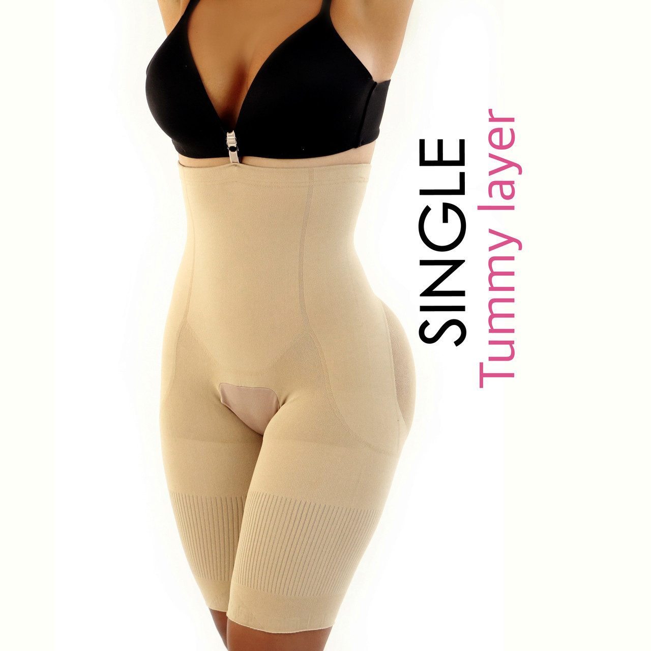 1039d1cfe Happy Butt N°7 Single Tummy Layer - YAHAIRA INC