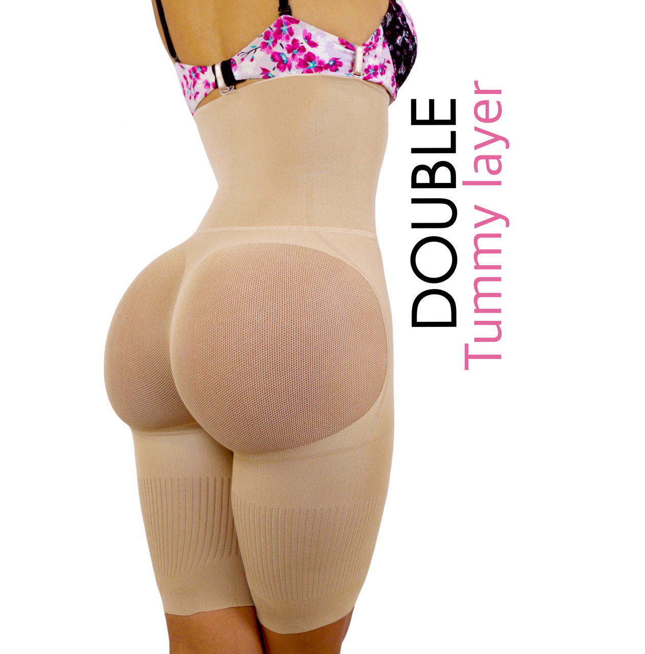 3417e7720b Happy Butt N°7 Double Tummy Layer - YAHAIRA INC