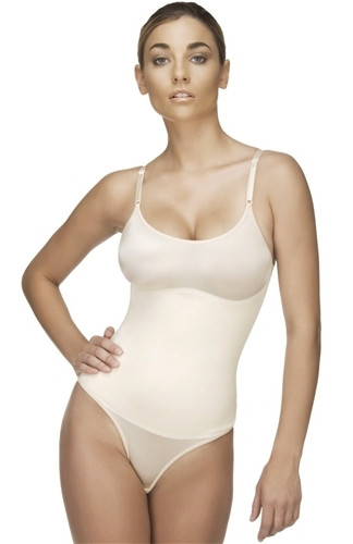 LEA Thong Body Suit - Nude