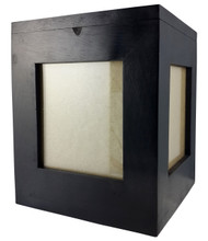 Mango Wood 5 Photo Cube Urn - up to 50kgs