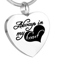 Always in my Heart Memorial Pendant 2