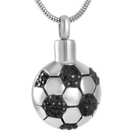 Soccer Ball Memorial Pendant