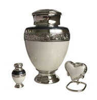 Empire Nickel Cremation Urn