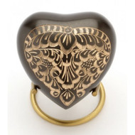 Black Radiance Heart Keepsake