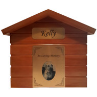 Dog House Cremation Urn - up to 100kgs
