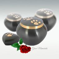 Odyssey Slate/Bronze Double Paw Urn