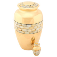 Mother of Pearl Keepsake Urn