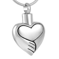 Paws Wrapped Around my Heart Memorial Pendant