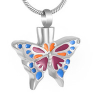 Butterfly Memorial Pendant