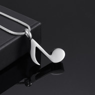 Musical Note Memorial Pendant