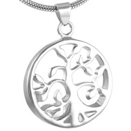 Eternity Tree of Life Memorial Pendant