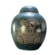 Teddy Bear Infant Urn (Blue)