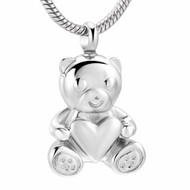 Teddy Bear Memorial Pendant