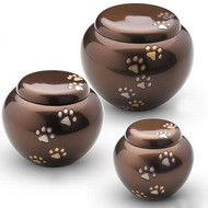 Odyssey Chestnut Bronze Paw Urn