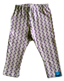 Nettle & Wolf Leggings - Purple Swallow