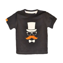 Momes Tee - Thierry the Diplomat - Navy (LAST ONE LEFT - SIZE 4-5 YEARS)