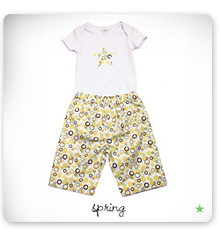 baby star Lounge Set - SpringTime