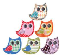 Tinch Design Studio - Owl Friends Set of 6