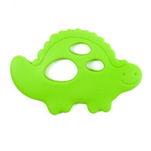 Bumkins Silicone Teether - Dinosaur