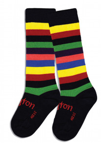 Lamington Merino Socks - Jester [PRICED FROM 15.90] (LAST ONE LEFT  - SIZE NB-3MTHS)