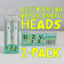 Jack and Jill Replacement Heads - Buzzy Brush (OUT OF STOCK)