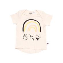 Milk & Masuki Short Sleeve Tee - Rainbow