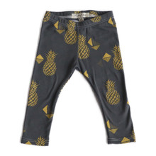 Mickey Rose Leggings - Pineapple (ONLY SIZE 0-3M LEFT)