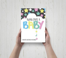 Along Came A Baby - Baby Milestone Book