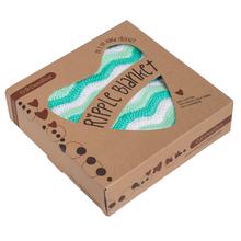 O.B. Designs Ripple Blanket - Mint