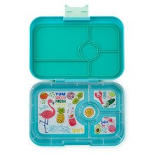 Yumbox Tapas - Antibes Blue 4 Compartment (OUT OF STOCK)