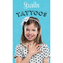 Snails Jewellery Tattoo - Metallic