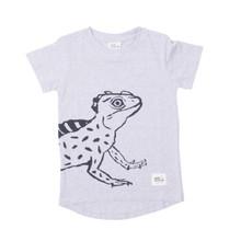 Milk & Masuki Tee - Lizard (ONLY SIZE 5 & 7 YEARS LEFT)