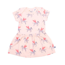 Neon Kite Baby Dress - Pegasus (LAST ONE LEFT - SIZE 0-3 MONTHS)