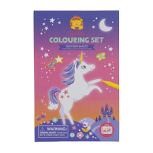 Tiger Tribe Colouring Set - Unicorn Magic