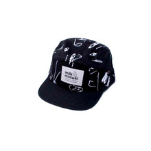 Milk & Masuki 5 Panel Cap - Studio (ONLY SIZE LARGE LEFT)