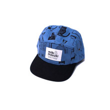 Milk & Masuki 5 Panel Cap - Basquit (LAST ONE LEFT - SIZE LARGE)
