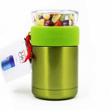 Goodbyn Duo 2-in-1 Insulated Food Jar (705ml) - Green