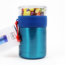 Goodbyn Duo 2-in-1 Insulated Food Jar (705ml) - Blue