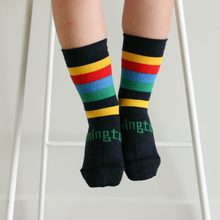 Lamington Merino Crew Socks - Boat Shed [FROM $15.90]