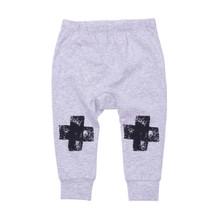 Milk & Masuki Baby Leggings - Black Knee Cross