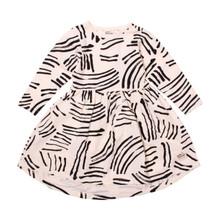 Milk & Masuki Long Sleeve Dress - Livewire Meterage