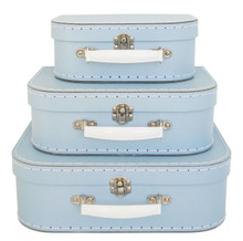 Alimrose Suitcase Set - Pale Blue