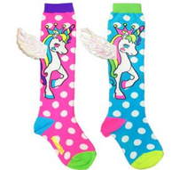 MADMIA Toddler Socks - Flying Unicorn