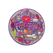 Goodbyn Embroided Patch - Food / Apple