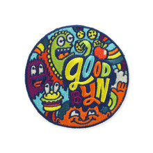 Goodbyn Embroided Patch - Monster