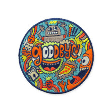Goodbyn Embroided Patch - Robot
