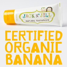 Jack and Jill Natural Toothpaste - Banana