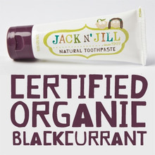 Jack and Jill Natural Toothpaste - Blackcurrant