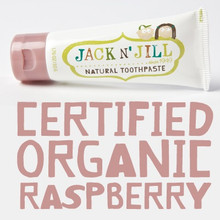 Jack and Jill Natural Toothpaste - Raspberry